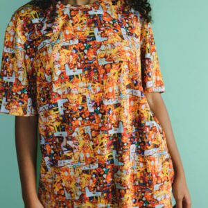 T-shirt Dagson-Laranja
